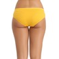 Set of 3 Cotton Mid Waist Bikini - Pink, Yellow & Skin