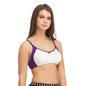 Set Of 3 Two Toned Cotton Rich Full Cup Bra