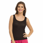 Round Neck Camisole - Black