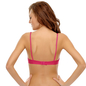 Cotton Rich Non-padded Wirefree T-shirt Bra In Hot Pink
