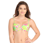Push Up Bra in Fluorescent Green with Back Detachable Straps