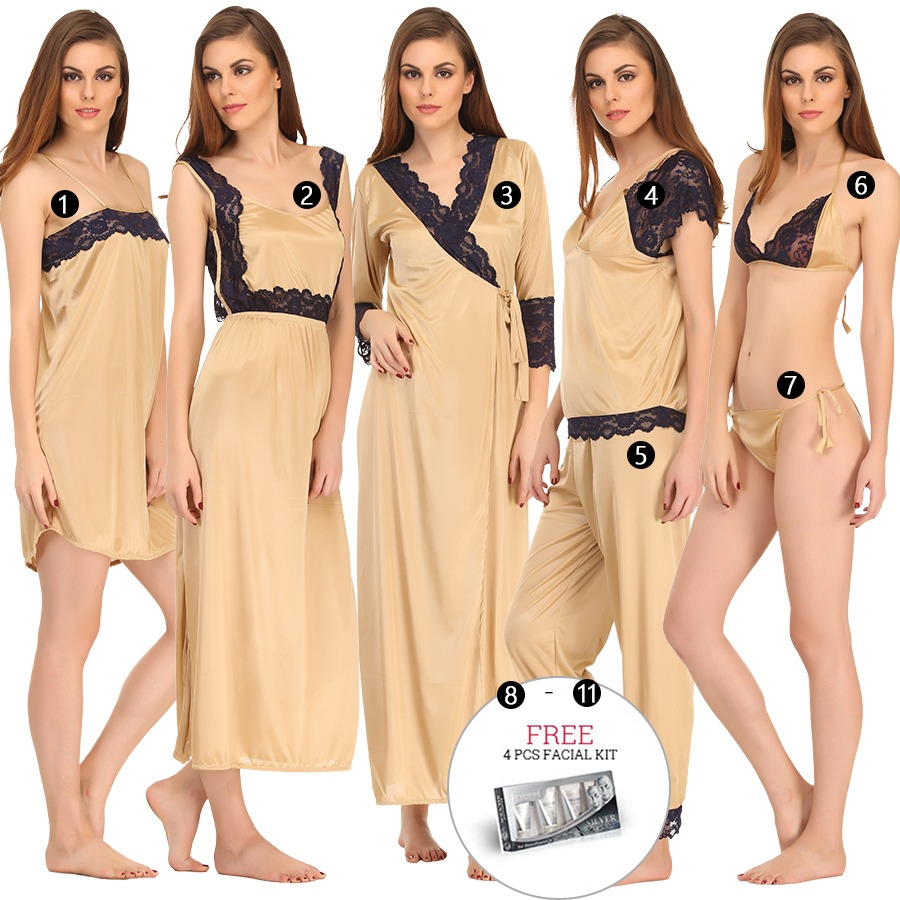 11 Pc Nightwear Set