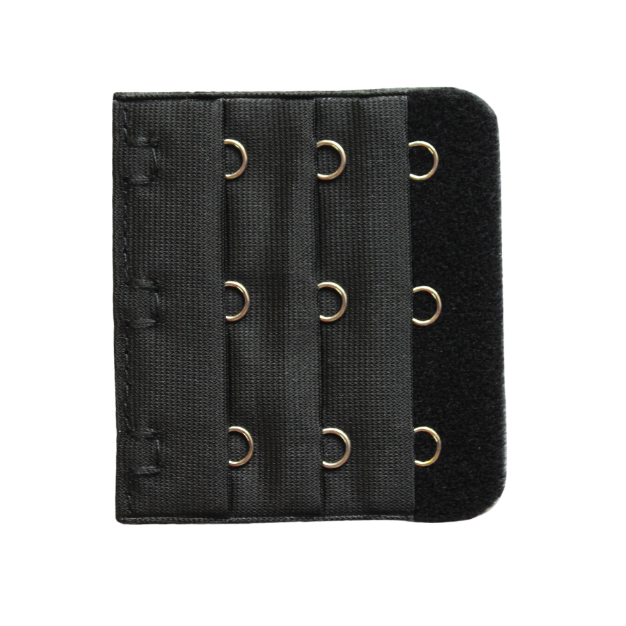 Bra Extender Hook & Eye In Black