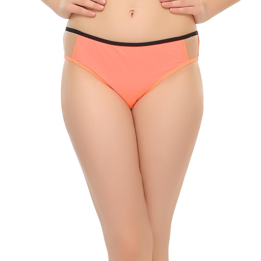 Bond Girl Polyamide Panty in Peach