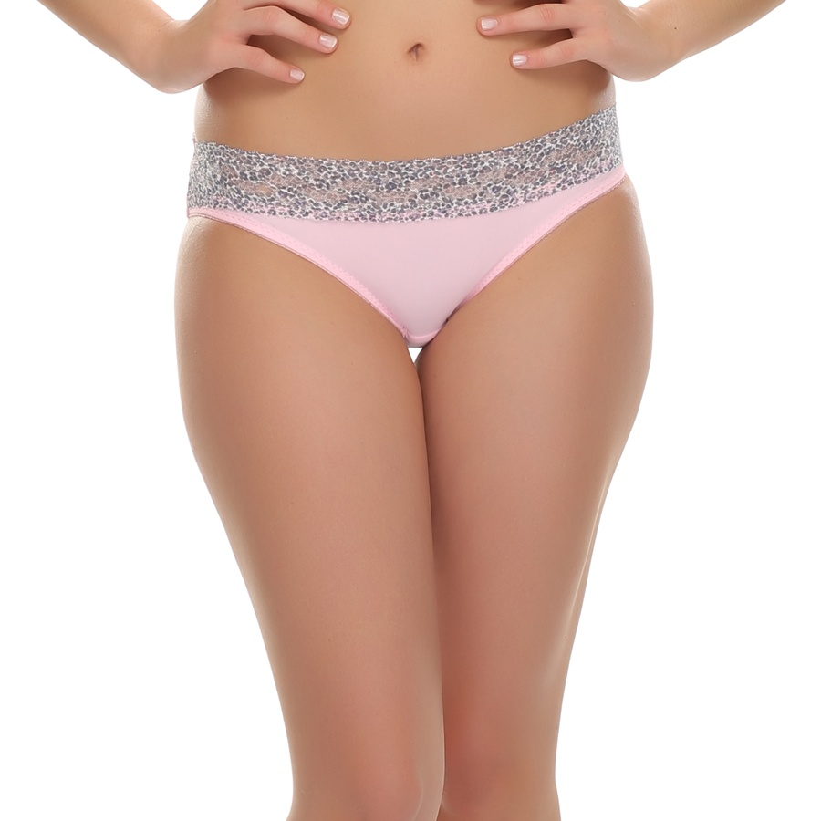 Panty In Pink With Lace