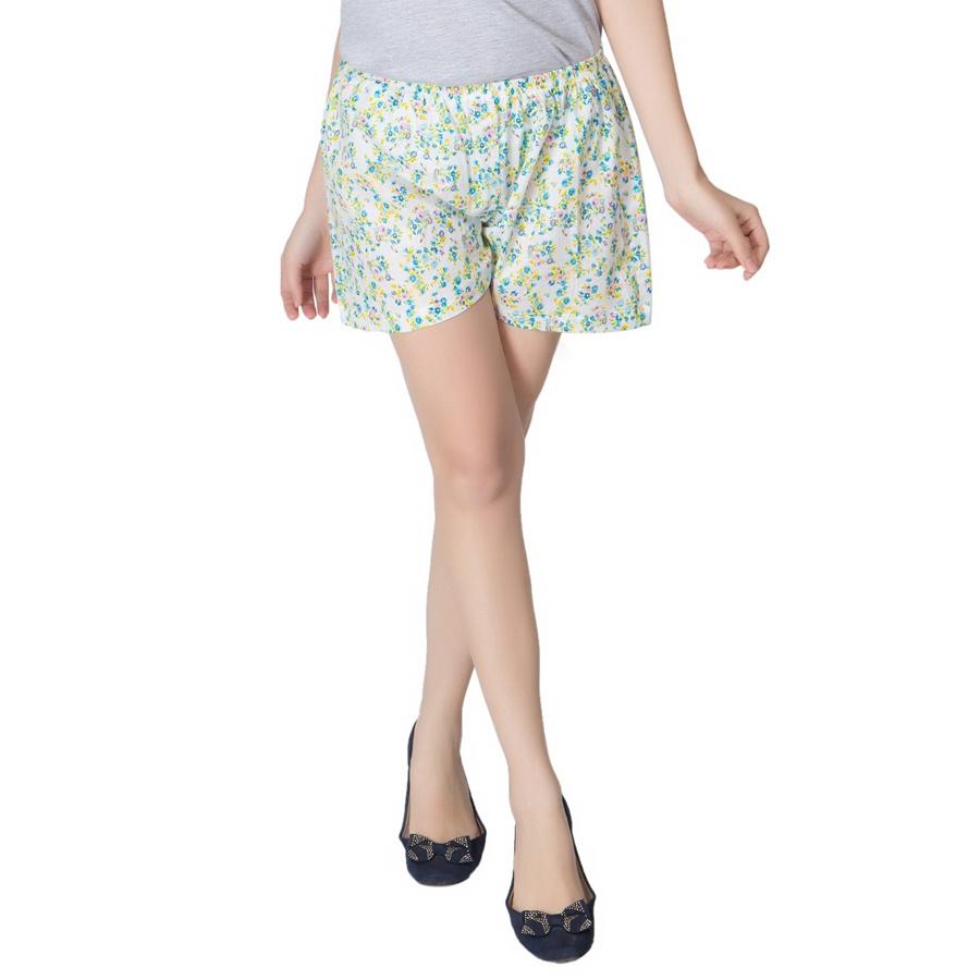 Cute Floral Print Shorts