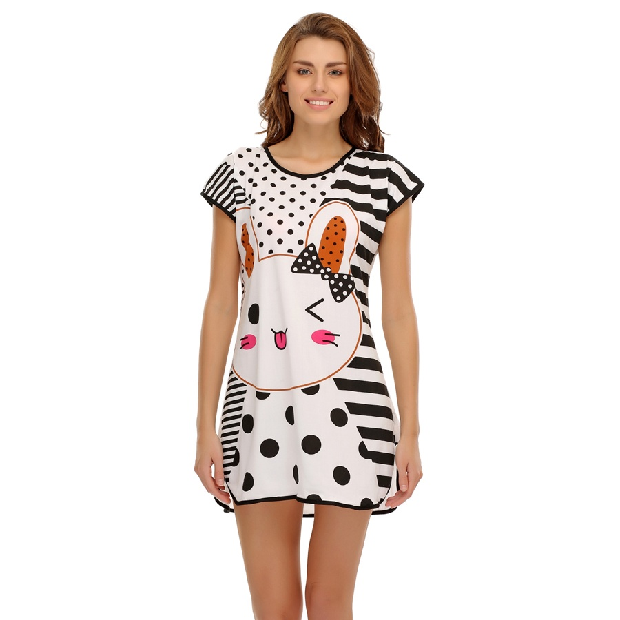 Cutie pie printed nightdress