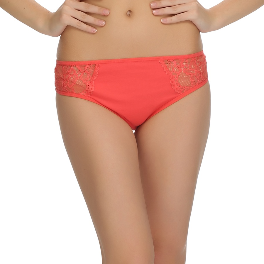 Lace Bikini In Orange