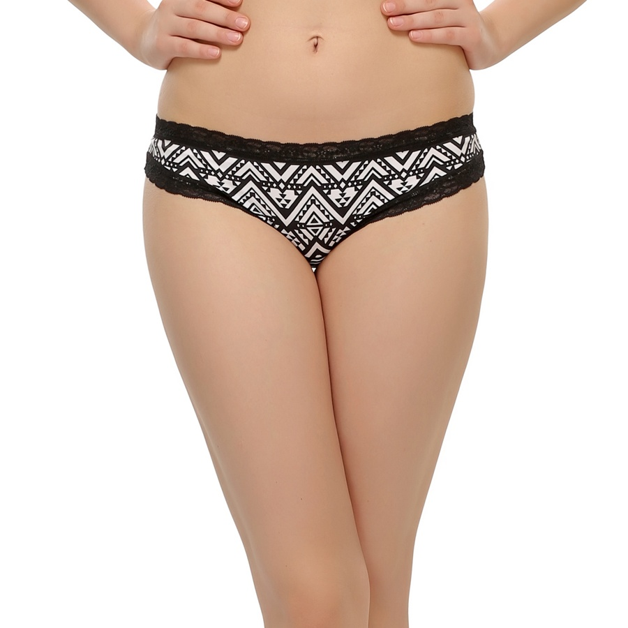 Lacy Bikini In Aztech Prints