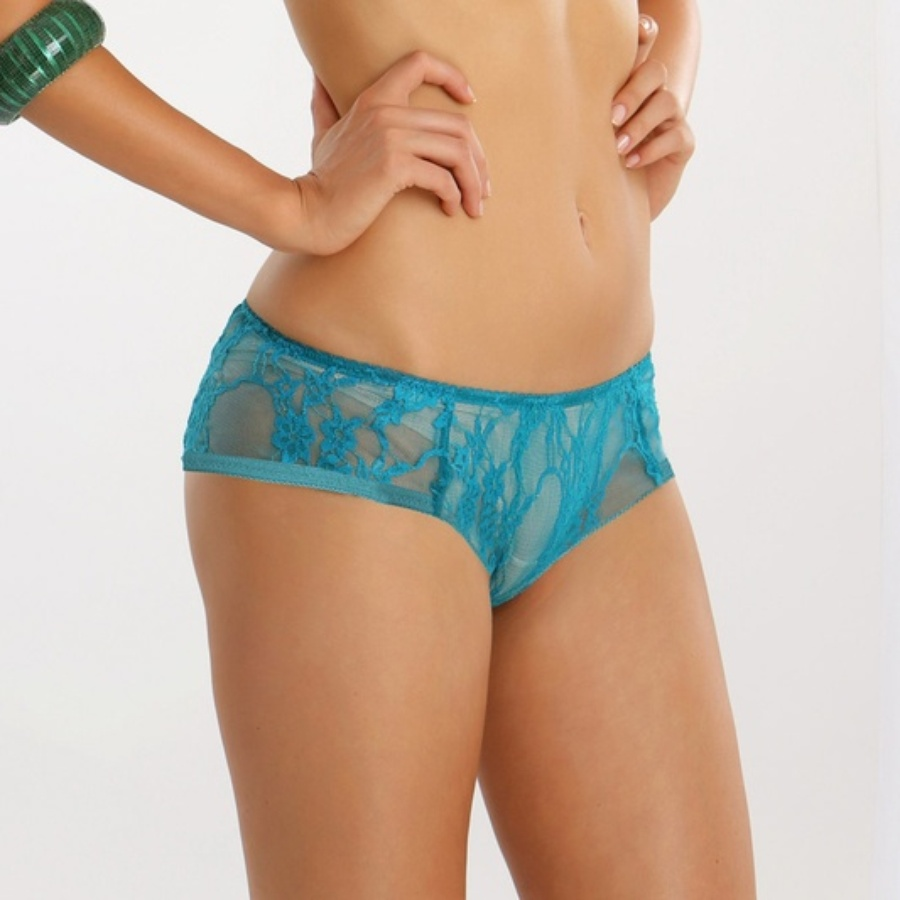 Lacy Panty in Turquoise