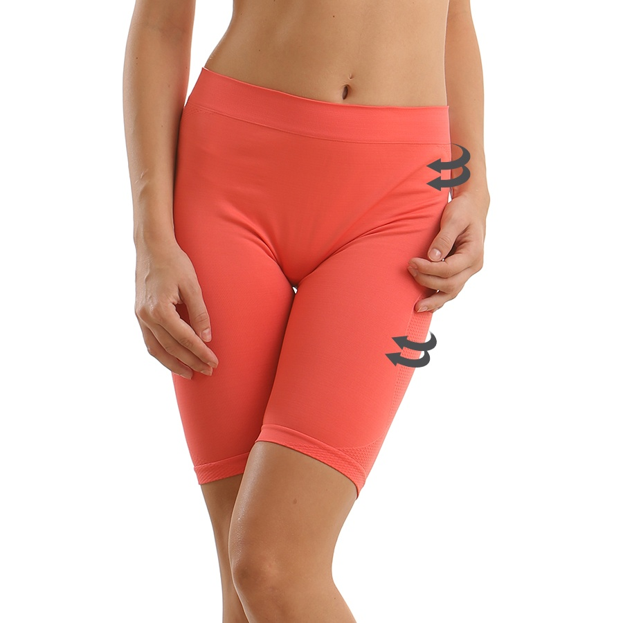 Thigh Shaper In Hot Pink