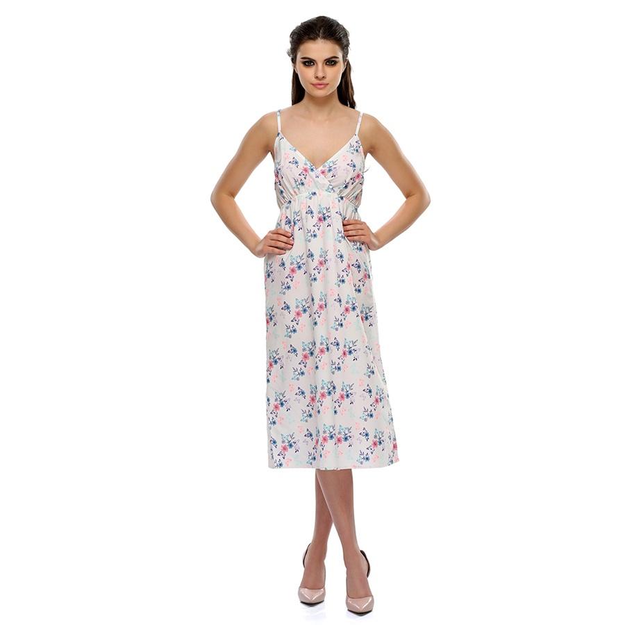 Butterfly Print Lovely Beach Dress