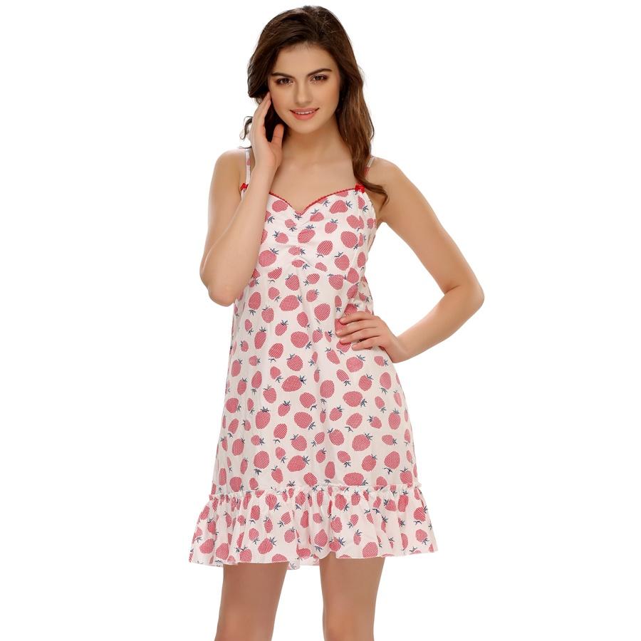 Juicy Strawberries On A Cute Beach Dress