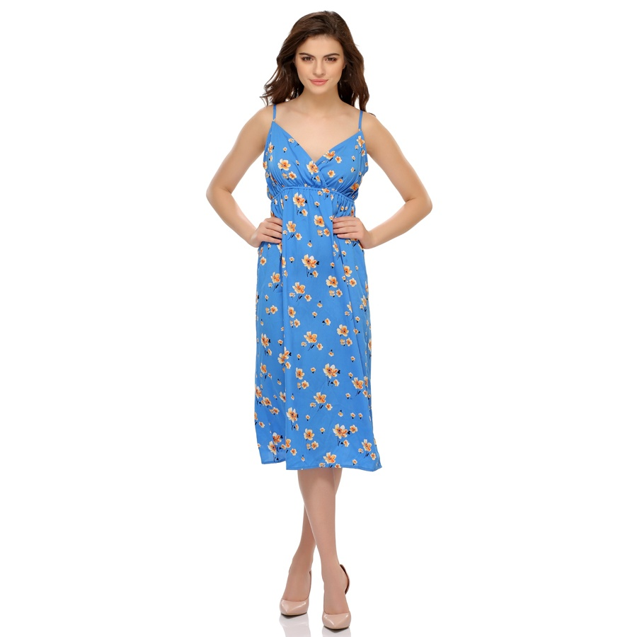 Floral Print Lovely Beach Dress