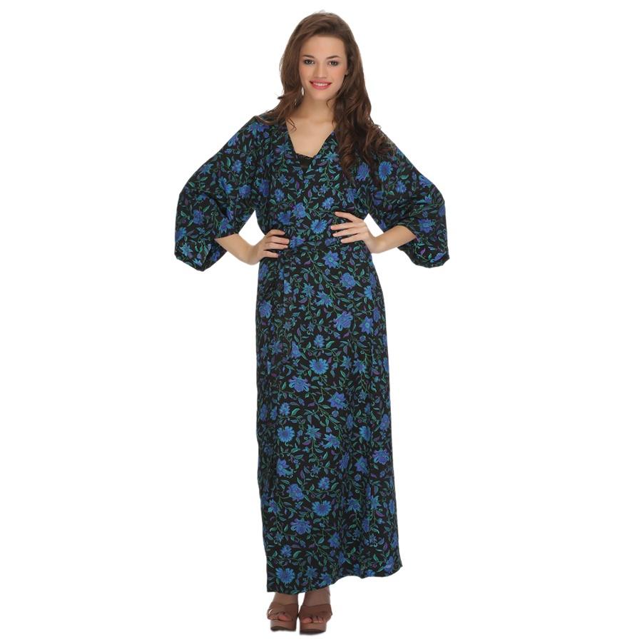 Long Robe Printed