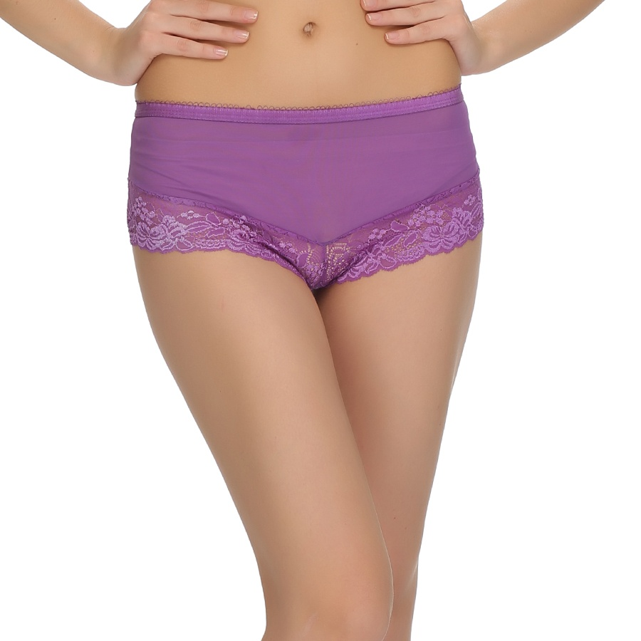 Floral Lace sexy Panty In Lavender