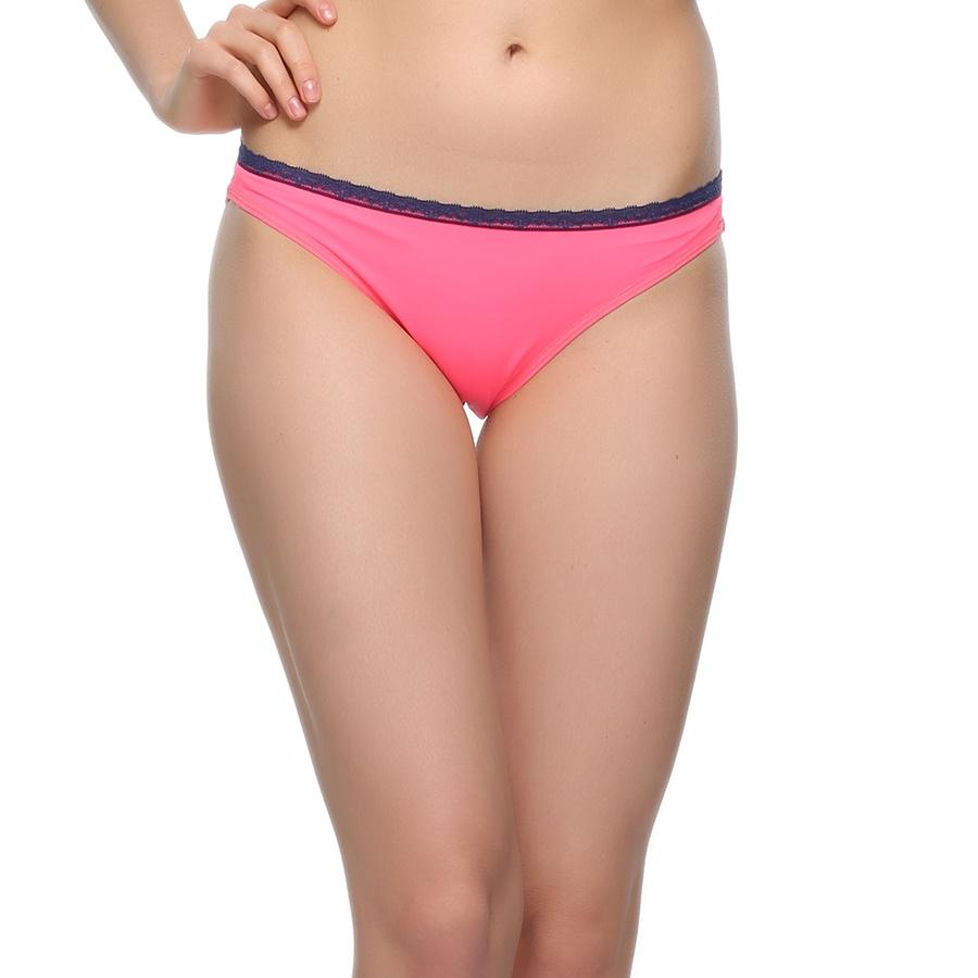 Lacy Neon Pink Bikini