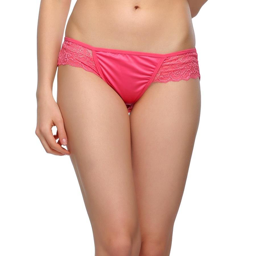 Pink Rose Lacy Bikini