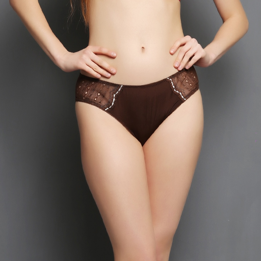 Polyamide Bikini In Brown