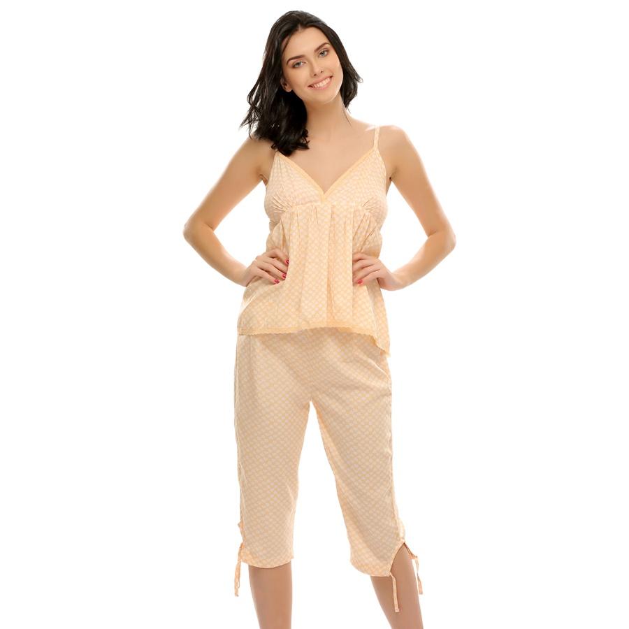 Printed Capri & Cami Nightwear Set