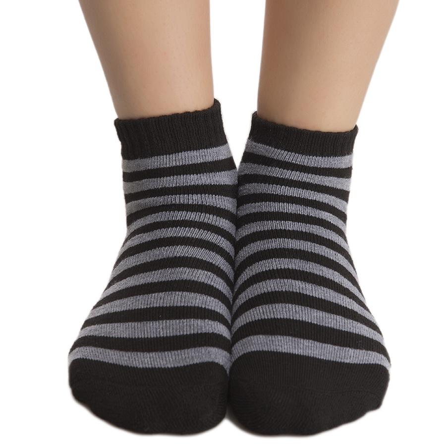 Short Ankle Socks In Black