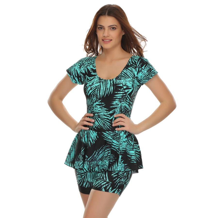 Frock Swimsuit In Trendy Prints
