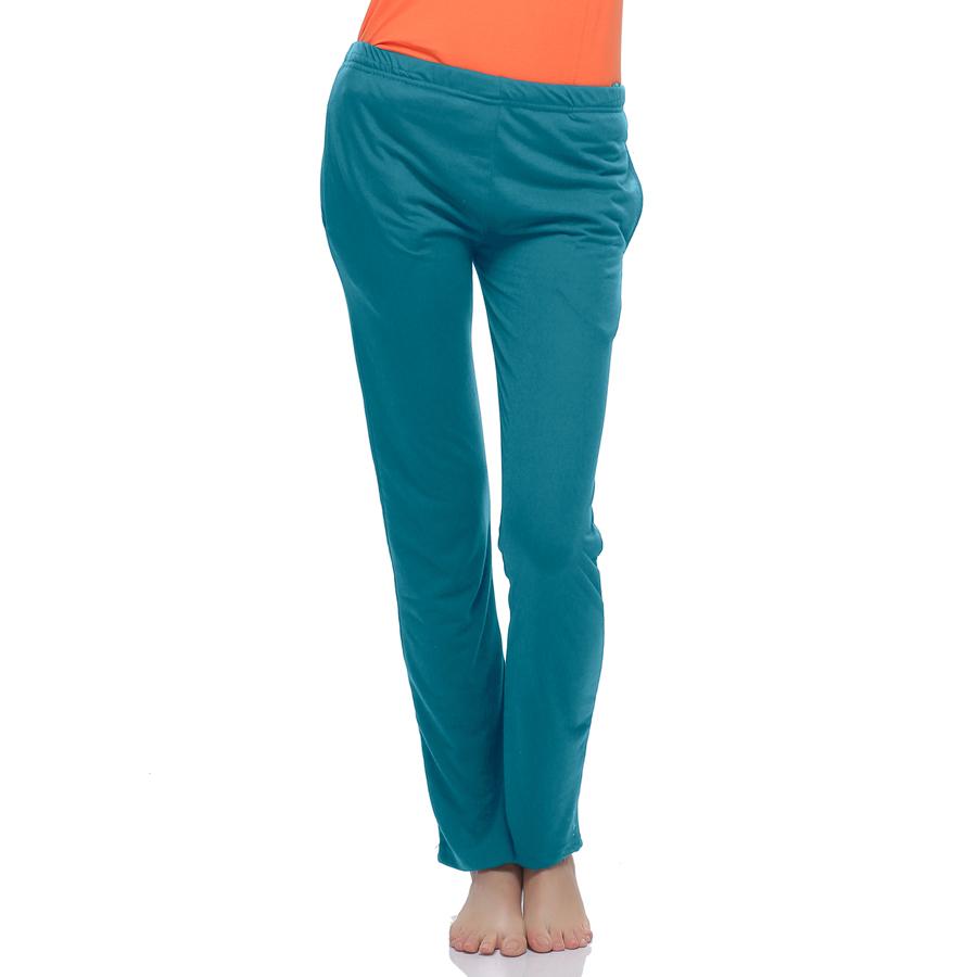 Soft Cotton Solid Pyjama In Blue