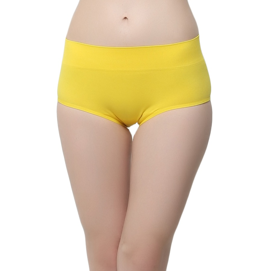 Soft Stretchy Hipster In Yellow