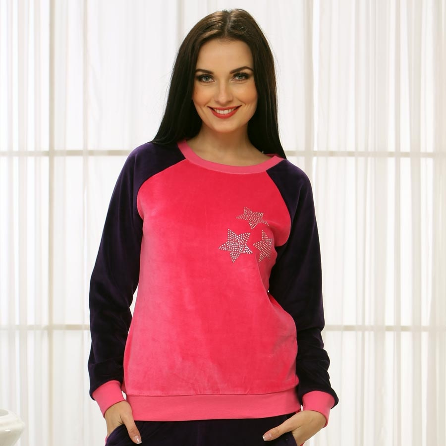 Sweat Shirt In Pink