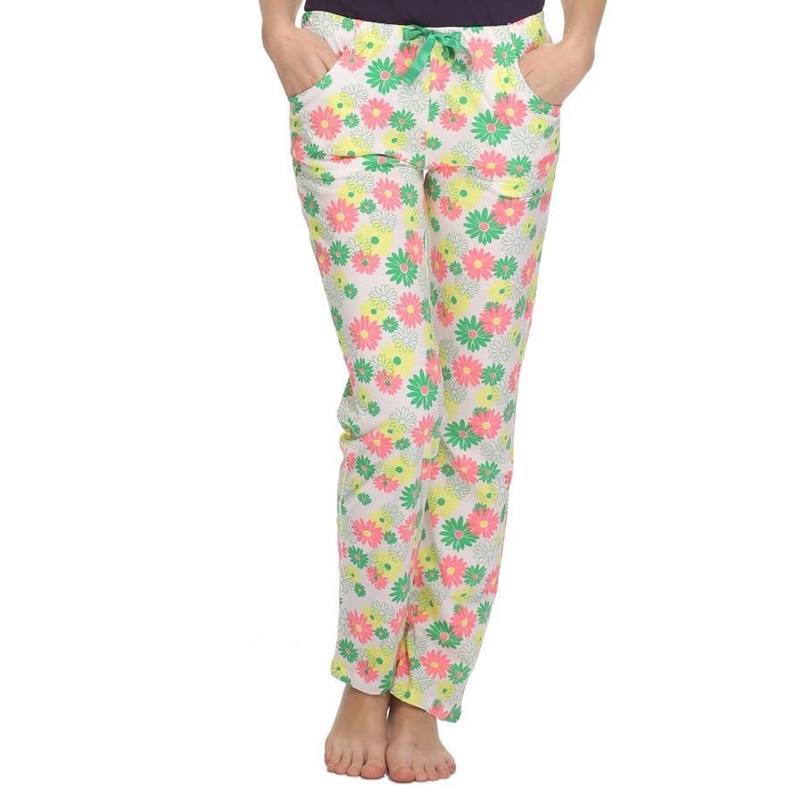 Flower Print Cotton Pyjama