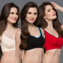 3 Pcs Set of Cotton Magic Bra
