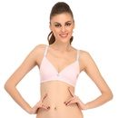 Cotton Padded Teenage Bra In Light Pink