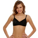 Cotton Moulded Cups Bra With Intricate Lace Design