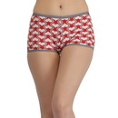 Cotton High Waist Boyshorts with Full Coverage