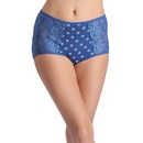Cotton High Waist Printed Hipster Panty