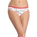 Cotton Low Waist Printed Bikini Panty