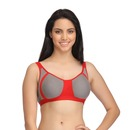 Cotton Non-Padded Non-Wired Colourblock Bra