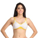 Cotton Non-Wired Non-Padded Full Cup T-shirt Bra - Grey