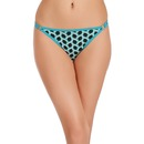 Cotton Printed Low Waist Thong