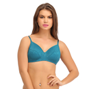 Non-Padded Wirefree Full Cup Bra - Green