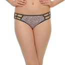 Printed Bond Girl Panty In Slate Grey