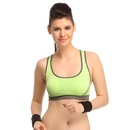 Polyamide Seamless Sports Bra With Cross Back Straps