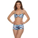 2 Pc Swimwear In Funky Prints