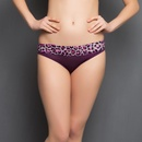 Panty In Purple With Lace