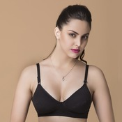 Cotton Rich Non-Padded Non-Wired Bra