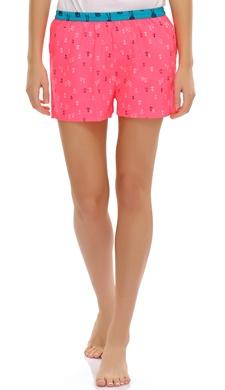 Anchor Printed Cotton Shorts