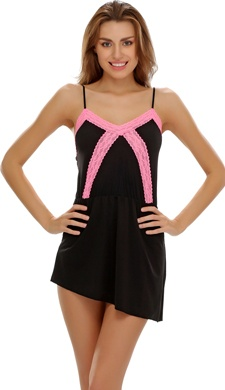 Black Babydoll With Pretty Laces