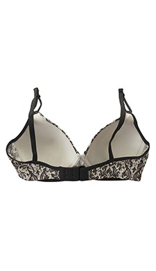 Non-Wired Printed Demi Cup T-shirt Bra