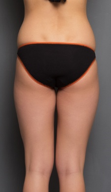 Cotton Panty with Orange Highlight