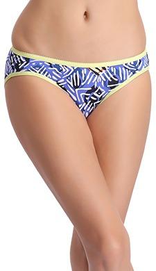 Cotton Low Waist Printed Bikini Panty - 54626